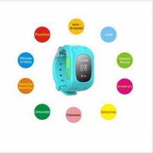 Hot sale! MEAFO W5 Q50 Child Older Anti lost GSM GPS Smart Watch Mobile Phone Bracelet Wristwatch For Kids SOS Emergency Free Sh