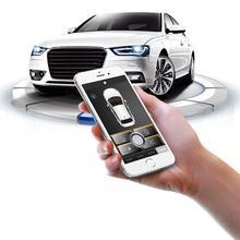 MACTAK PKE Smart Key Car Alarm System With Remote central locking  Push Button Passive Keyless Entry 889W