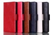 Чехол кожа, для Sony Xperia C3 масло отшлифованной текстурировано бумажник с стойка для Sony Xperia C3 D2533 двойной D2502