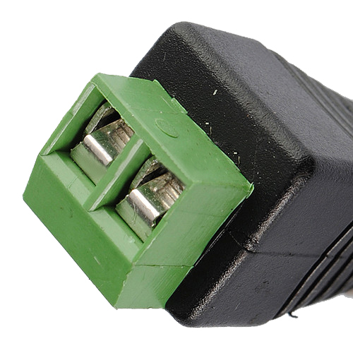 JFBL Hot sale 2 X CAT5 To Coax Coaxial Camera CCTV BNC TV Video Balun Cable Connector Adapter