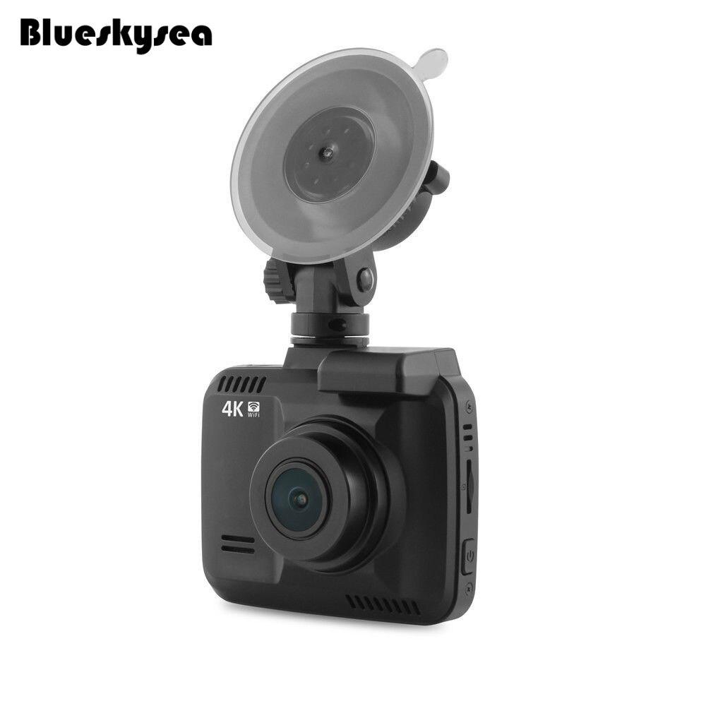 Blueskysea GS63H 4K WiFi GPS Car DVR Recorder 2.4 inch LCD 2880X2160P Camcorder G-sensor Novatek 96660 Built-in Li-ion battery azdome gs63h wifi car dvr recorder dash cam 2 4 novatek 96660 camera built in gps camcorder 4k 2880x2160p night vision g sensor
