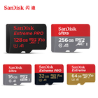 SanDisk 100MB/s Memory Card 256GB 128GB 64GB 32GB 16GB Micro SD Card C10 U3 U1 4K Microsd Flash TF Card for Phone Computer PC