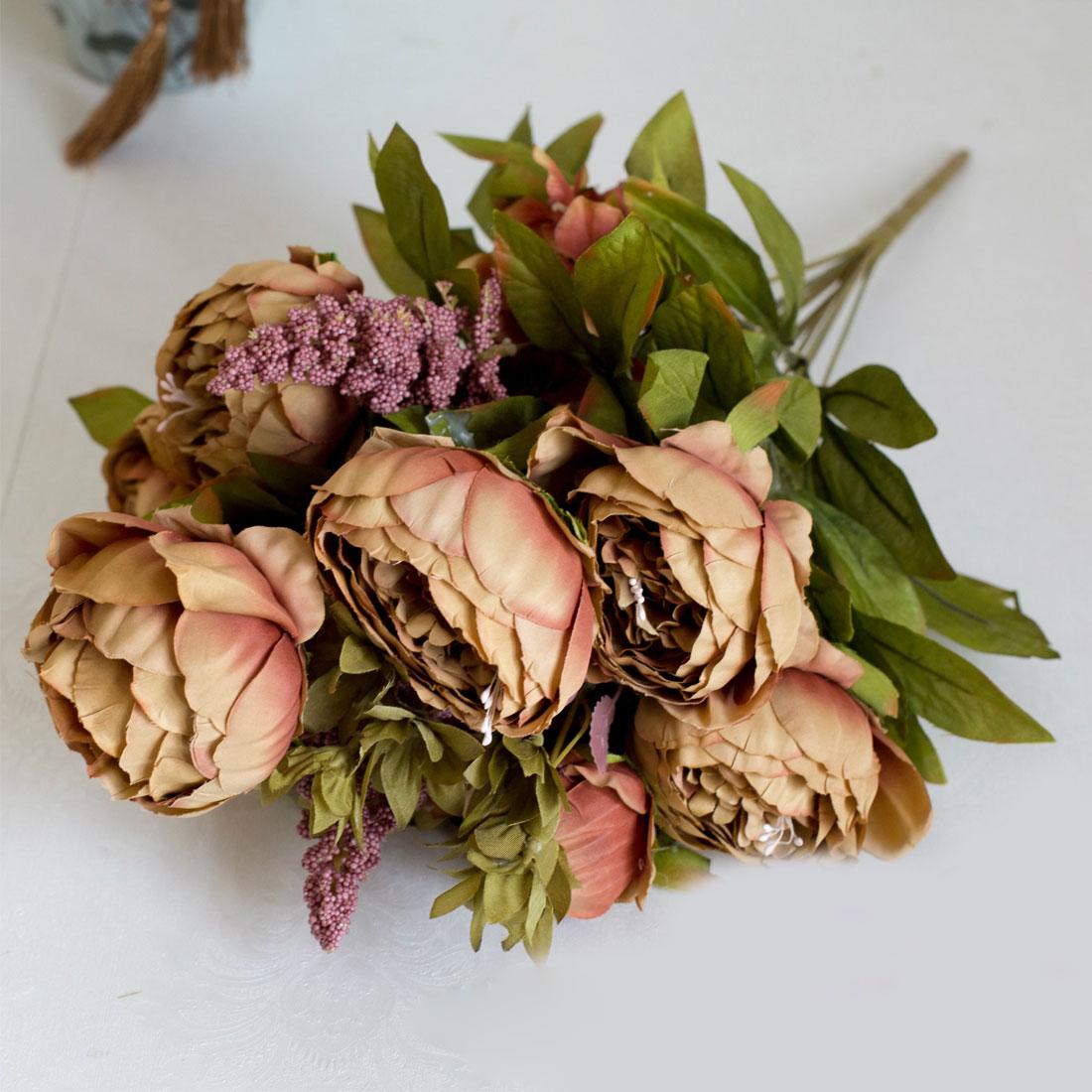 Lovely Delicacy Artificial Flowers Silk Flower European Fall