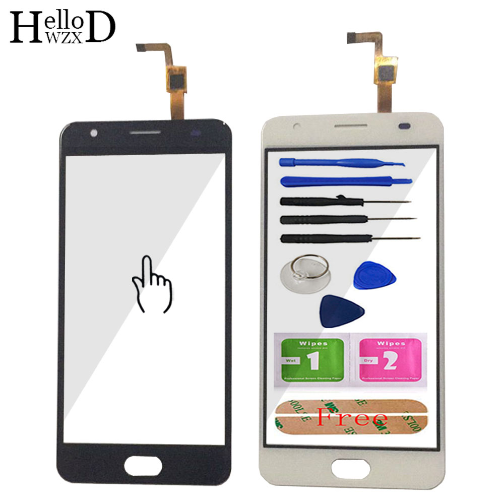HelloWZXD 5.0 Touch Glass For Oukitel K6000 Plus Touch Screen Glass Digitizer Panel Touchscreen Front Glass Lens Sensor Adhesive