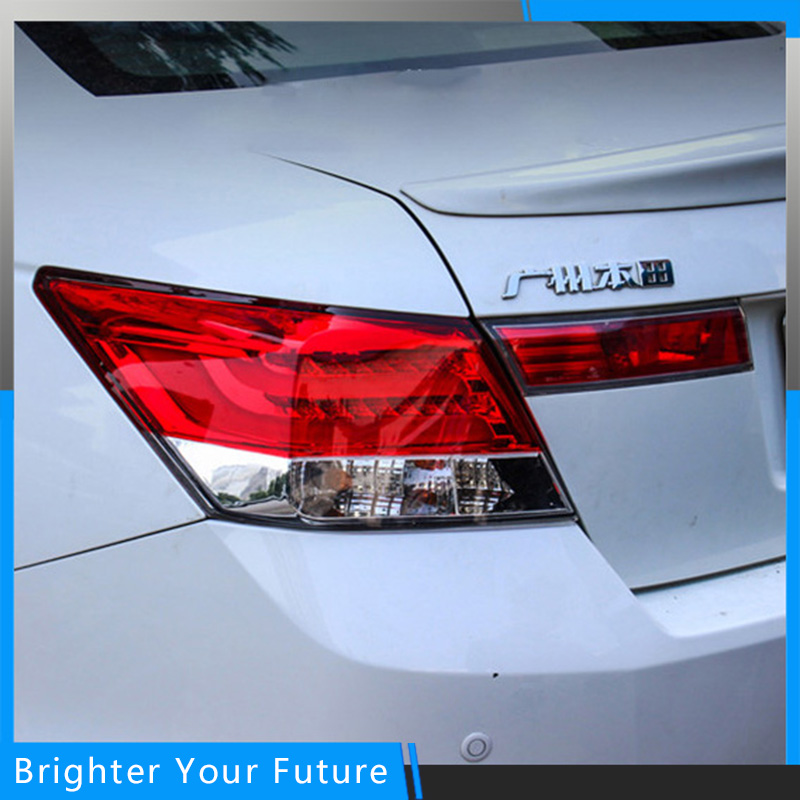 2шт задние фонари задние фонари подходят на Хонда Аккорд 2008-2012 Красный дым задний фонарь Ассамблея