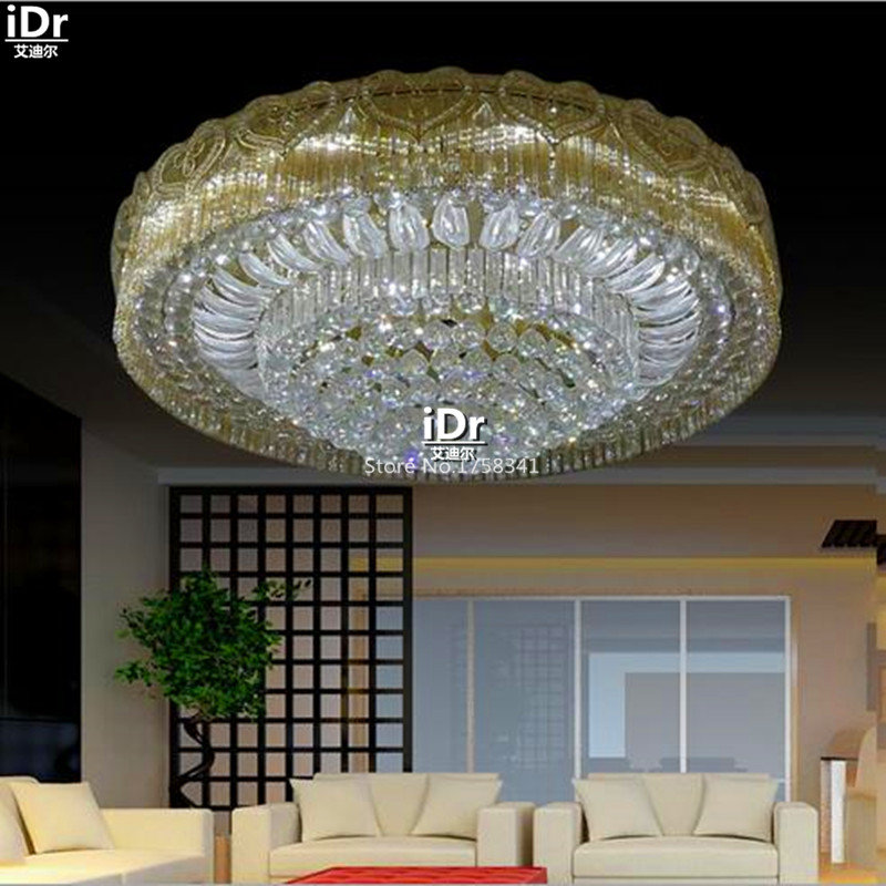 led light modern crystal lamp living room Luxury home decoration lighting Ceiling Lights wwy-0081