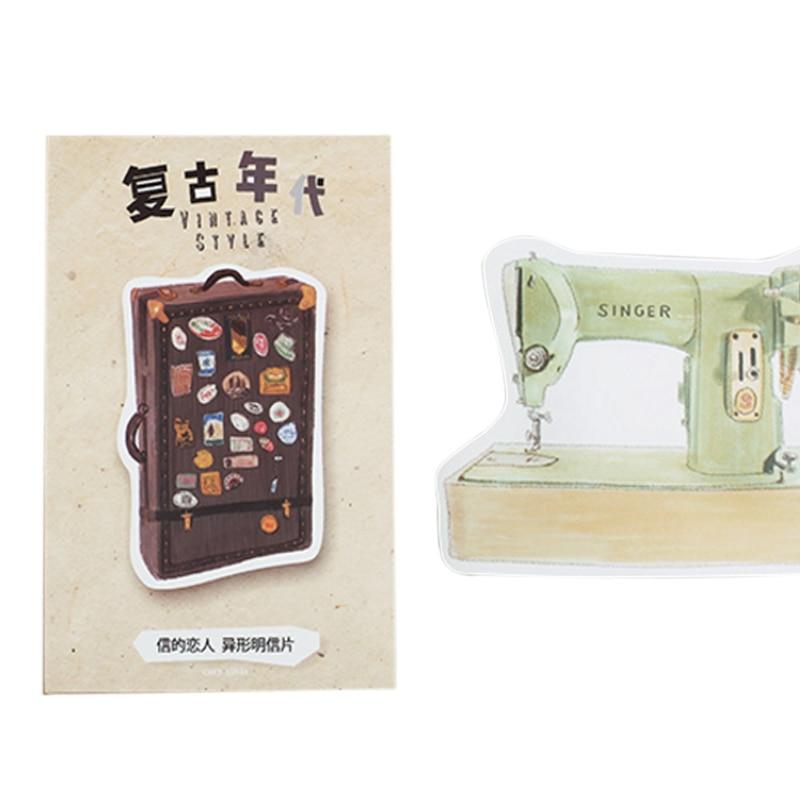 30 Pcs/lot Retro Age Greeting Card Postcards Birthday Christmas Gift Greeting Card/wish Card/Fashion Gift