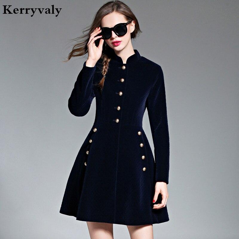 ol women winter dress robe hiver 2017 elegant long sleeve. Black Bedroom Furniture Sets. Home Design Ideas