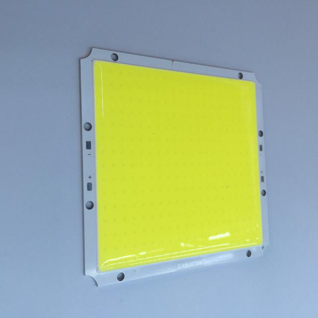 100x95 MM COB LEVOU Praça Lâmpada Luz Bulb 12 V 30 W Branco para Lâmpada Chip de Talão DIY home iluminação Ultra Brilhante 1 PCS