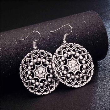 Fashion Metal Dangle Earrings Earrings Jewelry Women Jewelry Metal Color: GA722