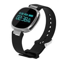 Новый E8 Smart Band Bluetooth 4.0 монитор сердечного ритма плавание IP67 Водонепроницаемый активно фитнес-трекер для IOS телефонах Android