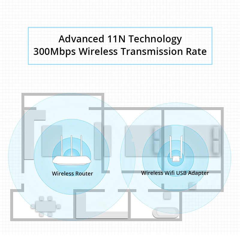 Tp Link Adaptateur Wifi Usb Sans Fil Wn826n 300 Mb S 2x5dbi Antenne A Gain Eleve Carte Reseau Tl Wn826n Version Lecteur Gratuit 2 4 Ghz Aliexpress