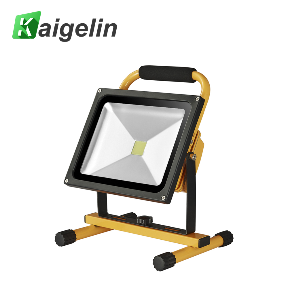 Rechargeable Floodlight 30W SMD 5730 Led Flood Light Waterproof Outdoor Lighting Car Charger Chargable Black Yellow Floodlamp ultrathin led flood light 200w ac85 265v waterproof ip65 floodlight spotlight outdoor lighting free shipping