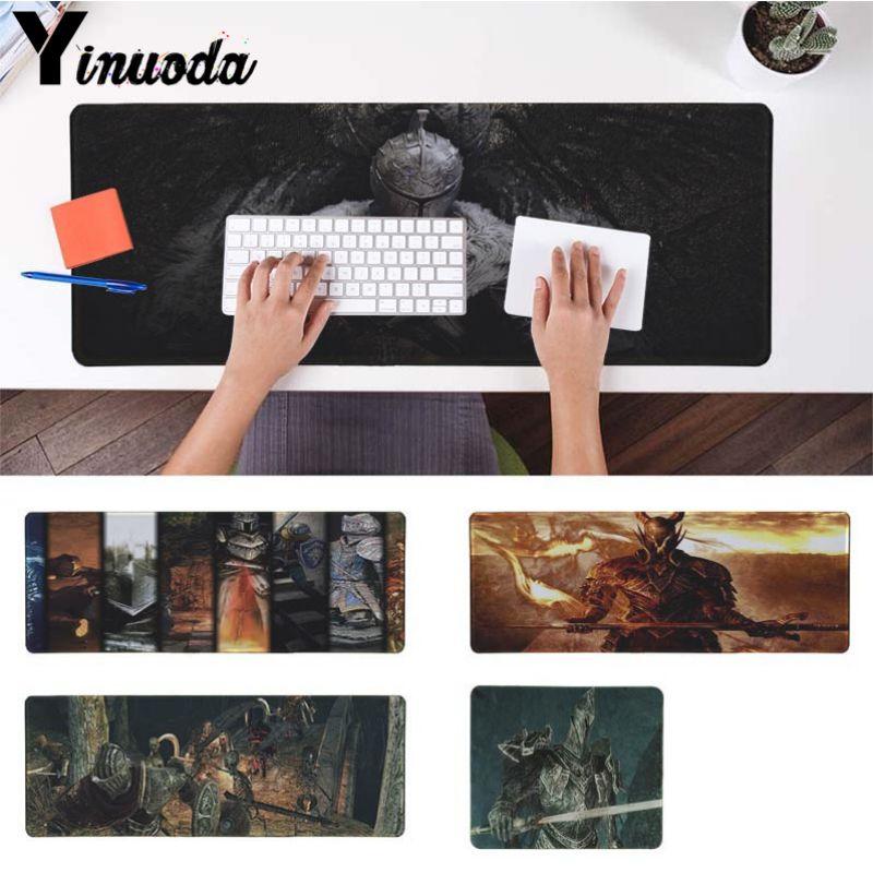 Yinuoda Top Quality DARK SOULS II DIY Design Pattern Game mousepad Computer Gaming Mouse Pad Gamer Play Mats Version Mousepad