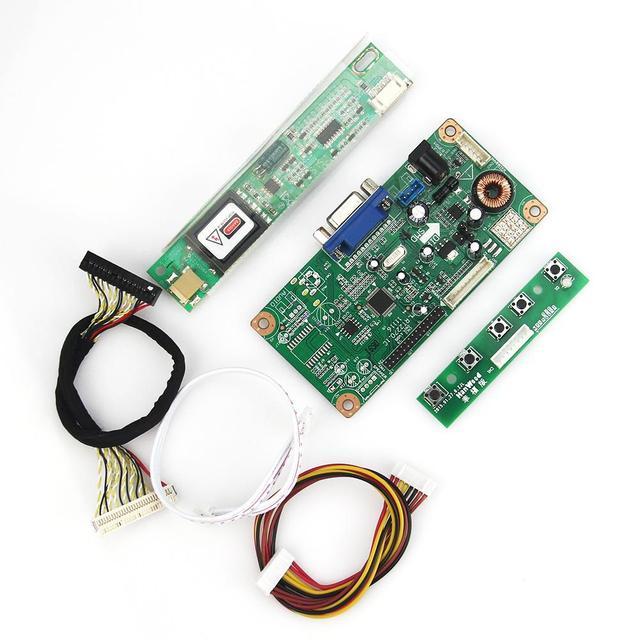 Для LP171WP4 (TL) (B1) LTN170X2-L02 Управления Водитель Борту VGA LVDS Монитор Повторное Ноутбук 1440x900 бесплатная Доставка