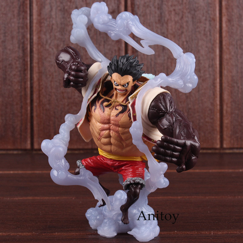 Anime One Piece King of Artist Luffy Statue The Bound Man PVC Monkey D Luffy One Piece Figure Collectible Model Toy 18cm 1