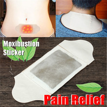 1pcs Self Heating Patch Physiotherapy Moxibustion Stickers Wormwood Moxa Plaster Paste Shoulder Pain