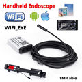 Free shipping!WIFIeye Wifi 1M Endocope Borescope Inspection Camera HD Video For Iphone 6+/7 Android Phone