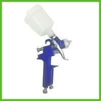 SAT1049 free shipping professional air paint sprayer hvlp gun air paint spray gun nozzle 1.0 pneumatic tools