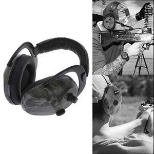 Image 5 - Free shipping Electronic Ear Muff Headphones Gun Shooting Protection Hunting Plugs Outdoor