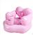 Pequenos bebês e crianças cadeira sofá inflável do bebê de aprendizagem para aumentar o espessamento banco de banho BB assento multifuncional portátil