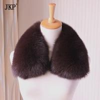 2018 Real fox fur collar muffler fur scarf for winter fox fur collar Coat collar FG96