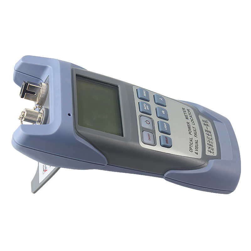 Medidor de potencia óptica y Localizador Visual de fallos de herramienta de fibra óptica-70-10dbm Vfl 10mw handhel óptica fuente de luz láser