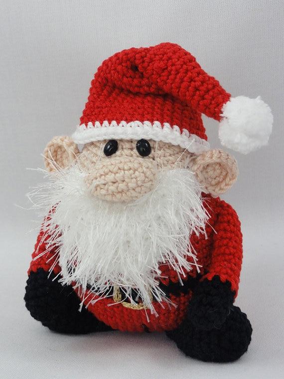 ФОТО Amigurumi Crochet Santa Claus XS Edition