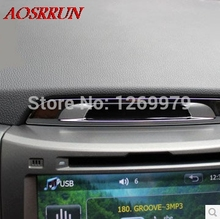for KIA SPORTAGE R 2011 2012 2014 Instrument panel sequins decoration car accessories car-styling for