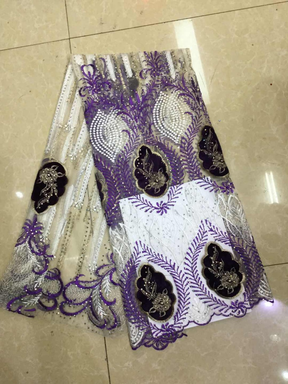 New African chiffon lace fabric high quality lace embroidery Nigerian French Guipure chiffon lace fabric womens wearNew African chiffon lace fabric high quality lace embroidery Nigerian French Guipure chiffon lace fabric womens wear