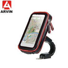 ARVIN Waterproof Bicycle Motorcycle Phone Bag Holder For iPhone X Samsung 3.5-6.2 inch Mobile Phone Touch Screen Bike Case Mount аквабокс overboard waterproof phone case and bike mount ob1156blk