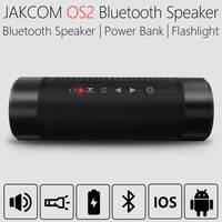 JAKCOM OS2 Portable wireless bluetooth speaker outdoor waterproof bicycle speaker with powerbank flashlight support TF AUX FM