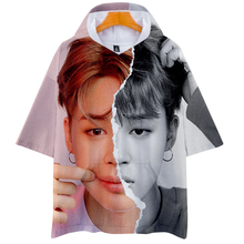 BTS 3D Print Short Sleeve Hoodies (10 Models)
