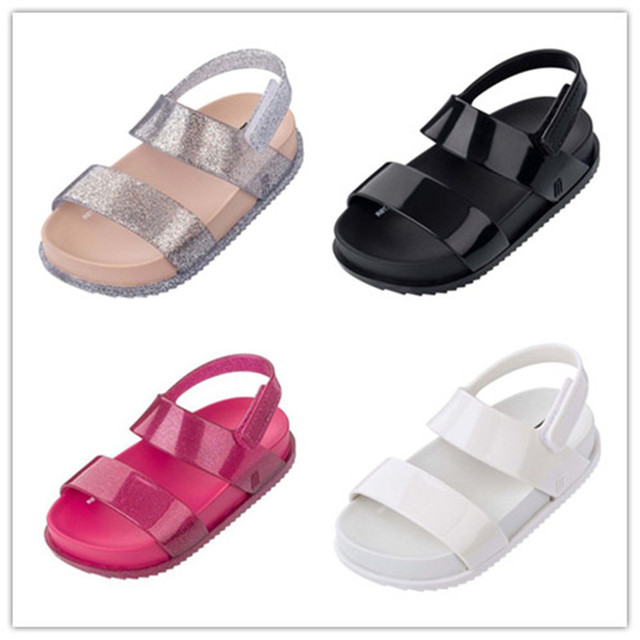a67bb532479cae Baby shoes 2018 Summer New Jelly Children Sandals Children Beach Sandals  Girl Shoes PVC Shoes High