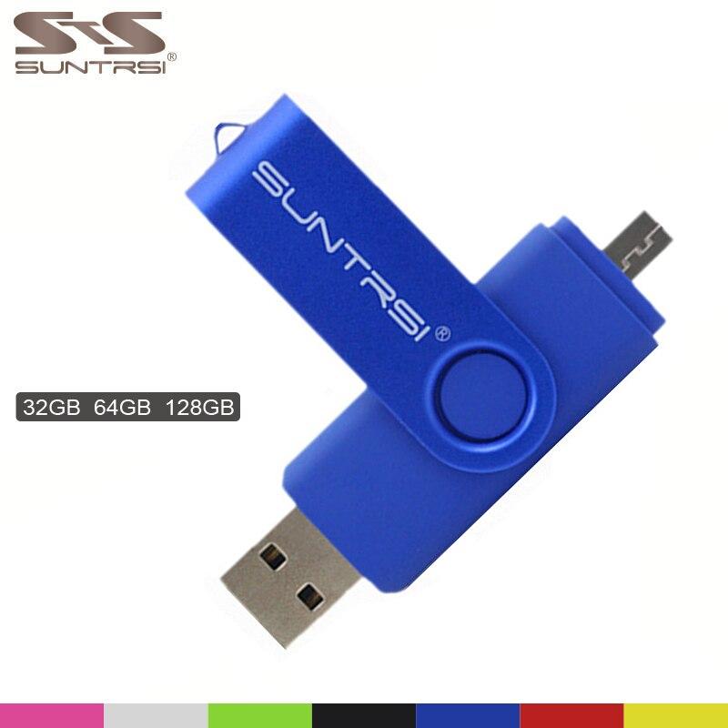 Suntrsi Smart Phone USB Flash font b Drive b font Metal Pen font b Drive b