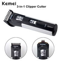 Kemei Professional Electric Hair Trimmer Men Kids Hair Clipper Rechargeable Hair Cutting Machine Hair Cutter Clipper