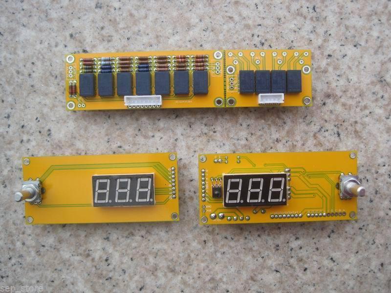 Assembled JV15 HIFI PGA2311PA remote volume board with dual display