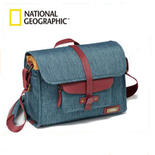 National Geographic NG AU2350 Genuine Leather Camera Bag Photography Accessories Bag Travel SLR Carry Bag Soft Camera Protection