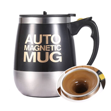 Fully Automatic One-Button Stirring Coffee Mug Milk Mixed CupJuice Cup 304 Stainless Steel Electric Lazy Special