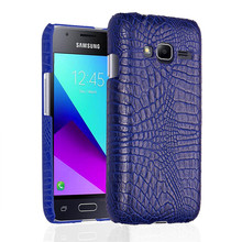 For Samsung J1 Mini Prime J106 Case Crocodile Grain Hard PC+TPU Surface Back Cover Case for Samsung Galaxy J1 Mini Prime J106F
