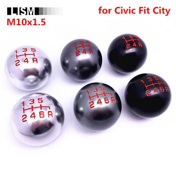 MT Gear Shift Knob for Honda Fit Civic City FD2 FN2 EP3 TYPE R DC2 DC5 AP1 AP2 S2000 F20C Gearshift Shifter Lever Stick M10x1.5