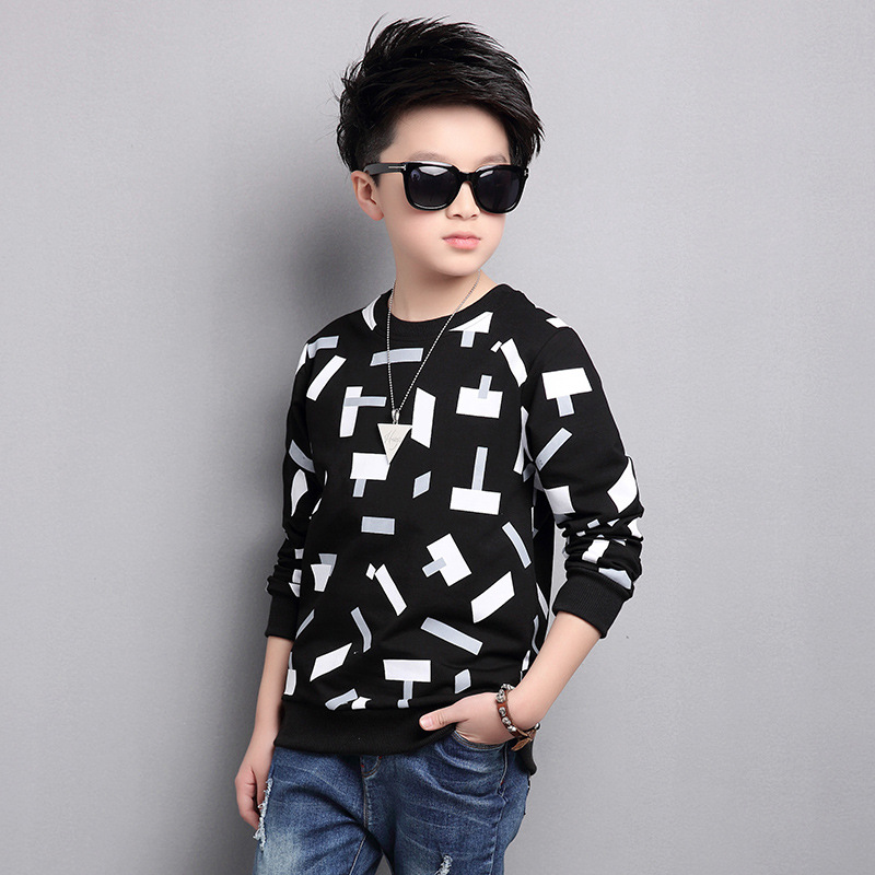 2019 Trendy O-neck Tops for Boys Cotton T-shirts Children ...