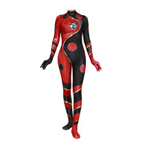 New Day Man Leidi Anime Dragon Bug Drangon Cosplay One-piece Tight-fitting Clothes Lady Red Onesies