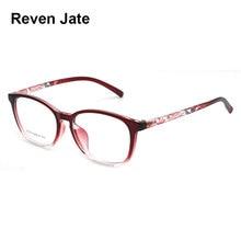 Reven Jate S1019 Acetate Full Rim Flexible High Quality Eyeglasses Frame for Men and Women Optical Eyewear Spectacles