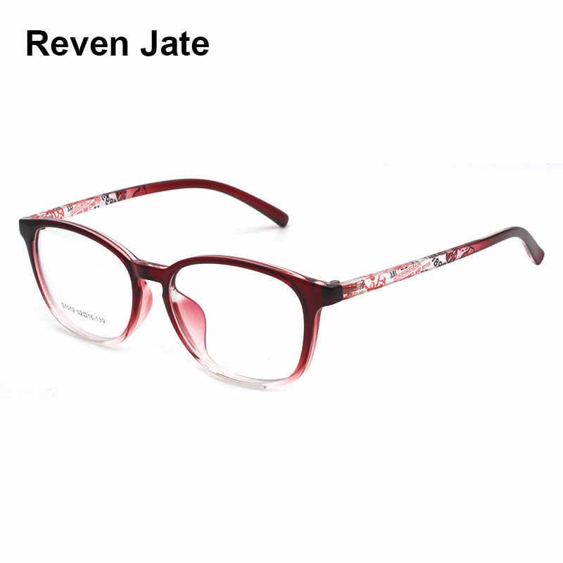 Reven Jate S1019 Acetate Full Rim Flexible High Quality Eyeglasses Frame for Men and Women Optical Eyewear Frame Spectacles