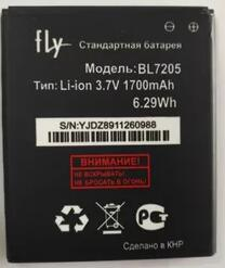 For fly IQ4409 Quad ERA life 4 Battery 1700mAh BL7205 Accumulator