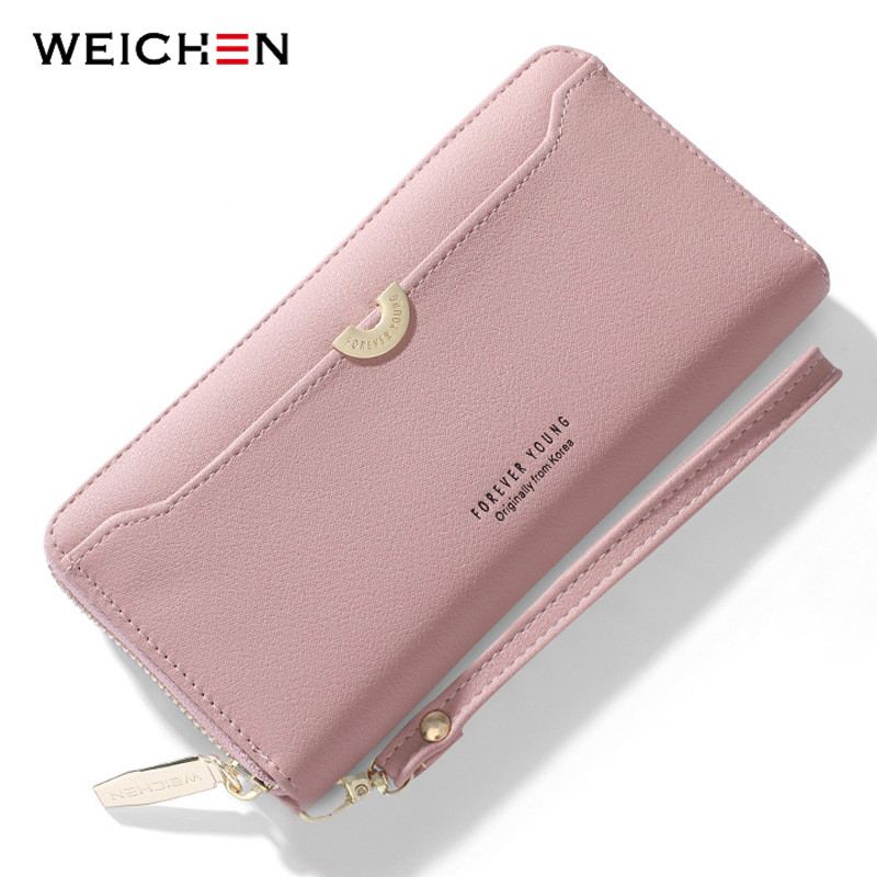 Wallet Zipper Wristband Phone-Pocket Long Clutch Large-Capacity Women Card-Holder Lady Purse
