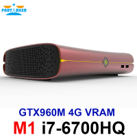 Partaker Game Killer Mini PC Computer Intel Quad Core i7 6700HQ GTX 960M GDDR5 4GB Video Ram 1*HDMI 1*DP 1*Type C S/PDIF 5G Wifi