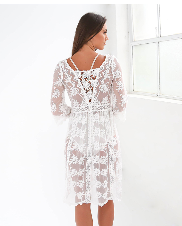 HTB1ggIhRpXXXXbcXVXXq6xXFXXXy - FREE SHIPPING Woman Embroidered Lace Cover Ups JKP2666