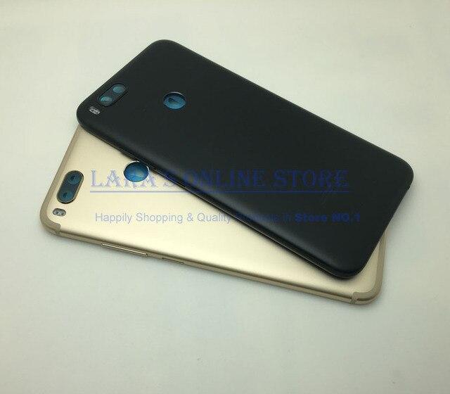 For Xiaomi Mi5x Battery Back Rear Cover Door Housing W Power Volume Buttons for Xiaomi Mi 5x M5X Back Cover Case Door